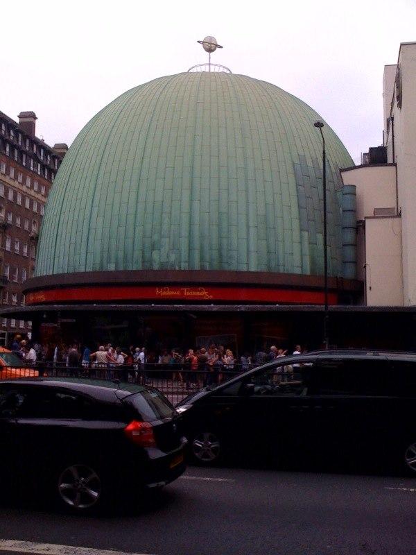 London Planetarium branded Tussauds