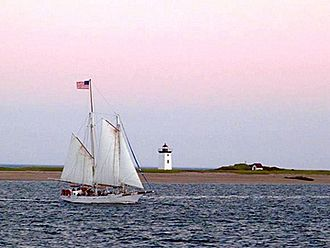 Long Point (Cape Cod) - Long Point, as viewed from downtown, 2012