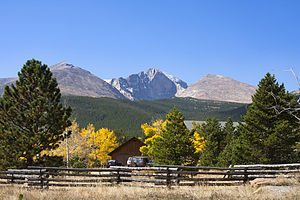 Peak to Peak Highway - Longs Peak