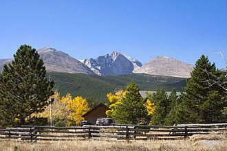 Peak to Peak Highway - Longs Peak