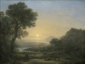 Lorrain - Landscape with a Piping Shepherd, 1667.png