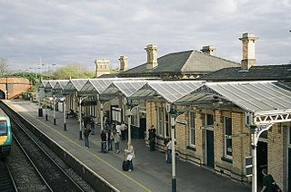 Loughborough railway station grade II listed train station in the United kingdom