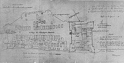 Louis-Joseph Franquet, Plan du Fort du Sault-Saint-Louis, 1752