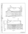 Louis Hammerschmidt House, 817 Charter Street, Monticello, Piatt County, IL HABS ILL,74-MONCEL,1- (sheet 1 of 4).png