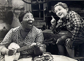Louise Beavers - Louise Beavers with Bobby Breen in Rainbow on the River (1936)
