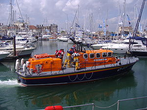 Tyne-class lifeboat - RNLI Tyne class lifeboat