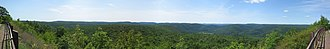 Loyalsock State Forest - Image: Loyalsock State Forest High Knob Panorama