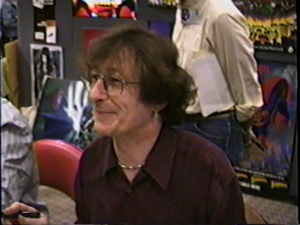 Alan Grant (writer) - Video still of Grant at a comics convention in the early 1990s.