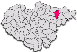 Commune Lozna in Sălaj County
