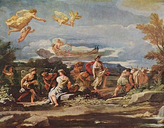 Vertumnus - Vertumnus and Pomona (1682–1683) by Luca Giordano