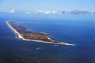 Frisian Islands - Aerial view of Sylt