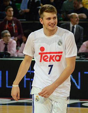 Luka Dončić - Dončić, in December 2016.