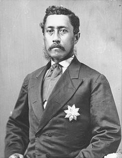 Lunalilo King of the Hawaiian Islands