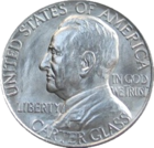 Lynchburg sesquicentennial half dollar commemorative obverse-cutout.png