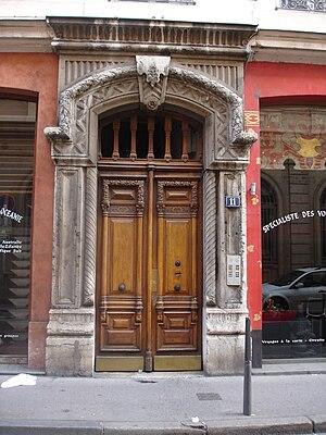 Rue de l'Arbre-Sec - Image: Lyon rue arbre sec Porte