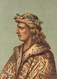 Matthias as a young King