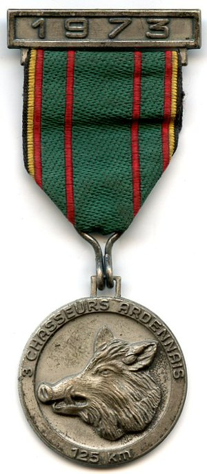 Commemorative Medals for Army Marches - MESA commemorative medal
