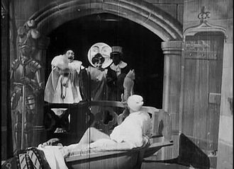 1896 in film - Screenshot of A Nightmare.