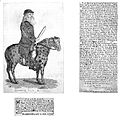 M. van Butchell on a mule. Wellcome L0000184.jpg