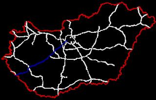 M7 motorway (Hungary) road in Hungary