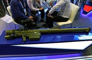 9K333 Verba Man-portable air-defense systems (MANPADS)
