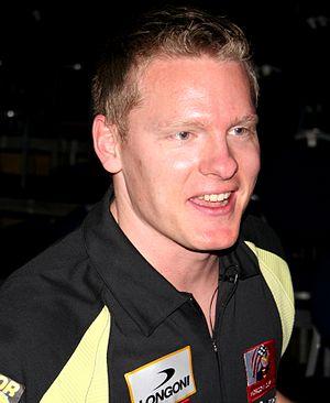 Niels Feijen - Niels Feijen at the Mosconi Cup 2008