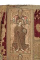 MCC-21689 Rode dalmatiek met annunciatie, visitatie en aanbidding der herders, Cyriacus, Petrus e.a. (15).tif