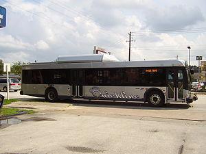 Quickline - Original bus livery