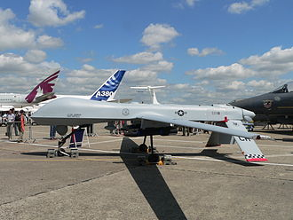 General Atomics MQ-1 Predator - At Paris Air Show 2007