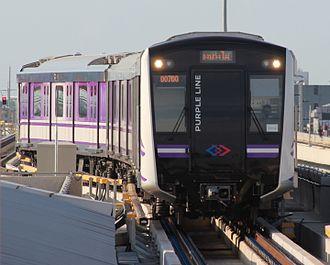 MRT Purple Line - J-TREC Sustina trainset