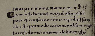<i>Collectio canonum Wigorniensis</i>
