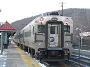 Metro-North Railroad Comet V #6710 at Suffern.