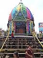 Maa Subhadra Rath of Baripada Rathyatra 2012.JPG