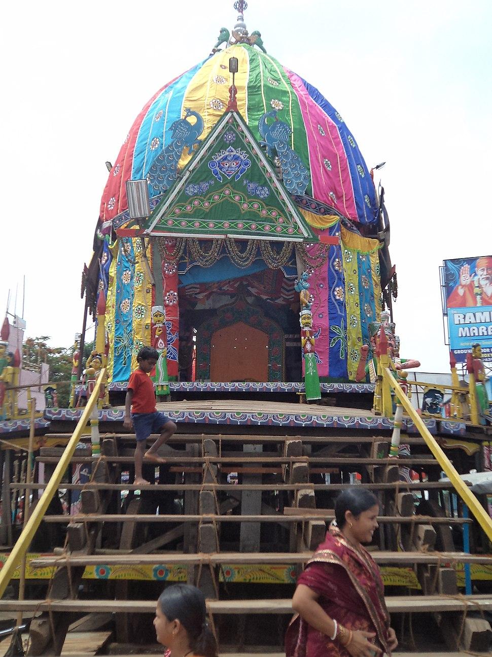 Maa Subhadra Rath of Baripada Rathyatra 2012