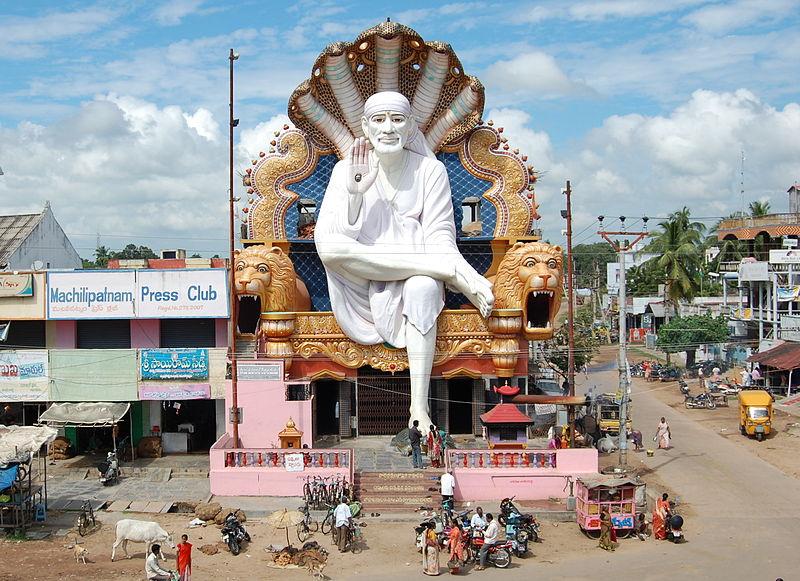 #XploreBharat, #IncredibleIndia, #BlogBoosterIND, #Machilipatnam #Saibabatemple https://shravmusings.com/2019/02/xplorebharat-reaches-machilipatnam-oldest-natural-harbour-in-andhra/