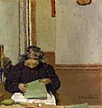 Madame Vuillard Cousant (1895) by Edouard Vuillard.jpg