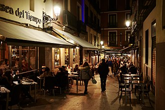 Nightlife in the Centro District Madrid (28228858839).jpg