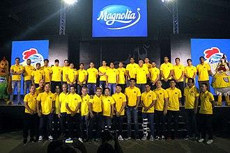 Magnolia Hotshots - Formal press launch of the team re-branded as Magnolia Hotshots. November 27, 2017.