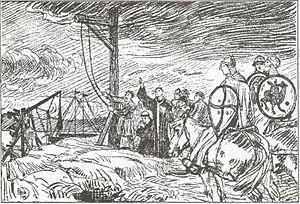 1135 in Norway - The hanging of Bishop Reinald.