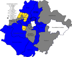 Maidstone 2011 election map.png