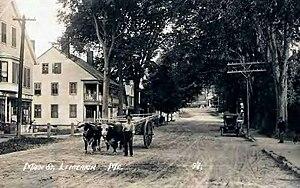 Limerick, Maine - Main Street (Sokokis Trail)