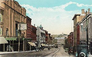 Main Street from the Bangor Opera House, Bango...