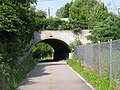Main Street underpass, Washington Secondary Trail, West Warwick, Rhode Island.JPG