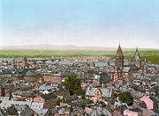 Mainz BlickzumRhein 1890