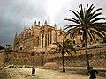Majorque Palma Passeig Dalt Murada Catedrale - panoramio.jpg