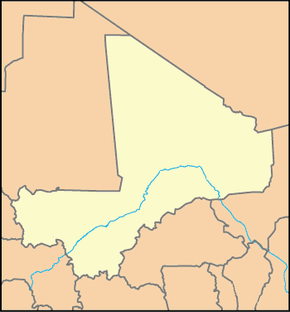 Ségou is located in Mali