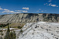 Mammoth Hot Springs, Yellowstone National Park, View towards West 20110819 2.jpg