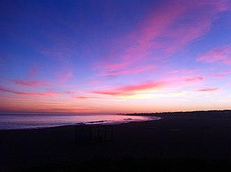 Punta del Este - Manantiales Beach at the sunset