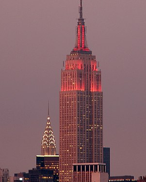 May 1: Empire State Building is completed. Manhattan at Dusk by slonecker.jpg