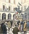 Manifestation de l'Union nationale devant la statue de Jeanne d'Arc (Petit Journal illustré, 1894-19-02).jpeg